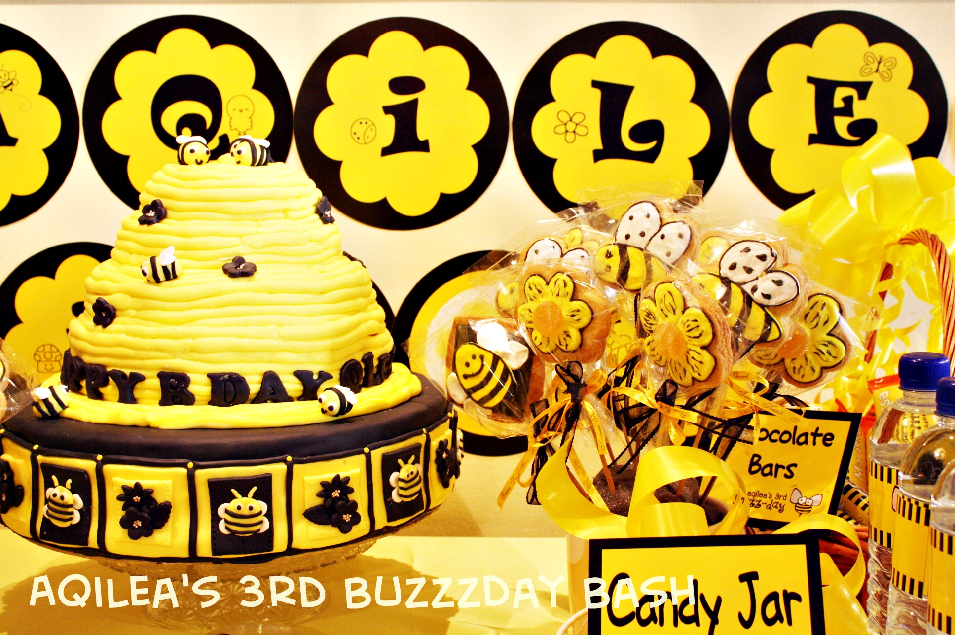 Yellow Black Bee Hive Birthday Theme Its More Than Just A Party