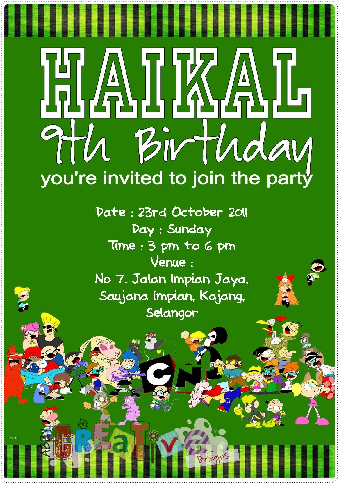 Cartoon Network Theme Birthday Party Its More Than Just A Party