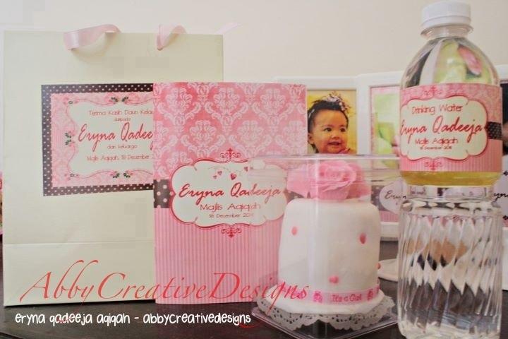 Doorgift package for aqiqah cukur jambul its more than for Idea door gift cukur jambul