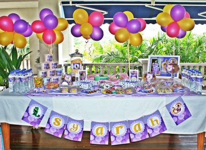 The 7th Birthday Bash The Tangled Rapunzel Theme Its More Than