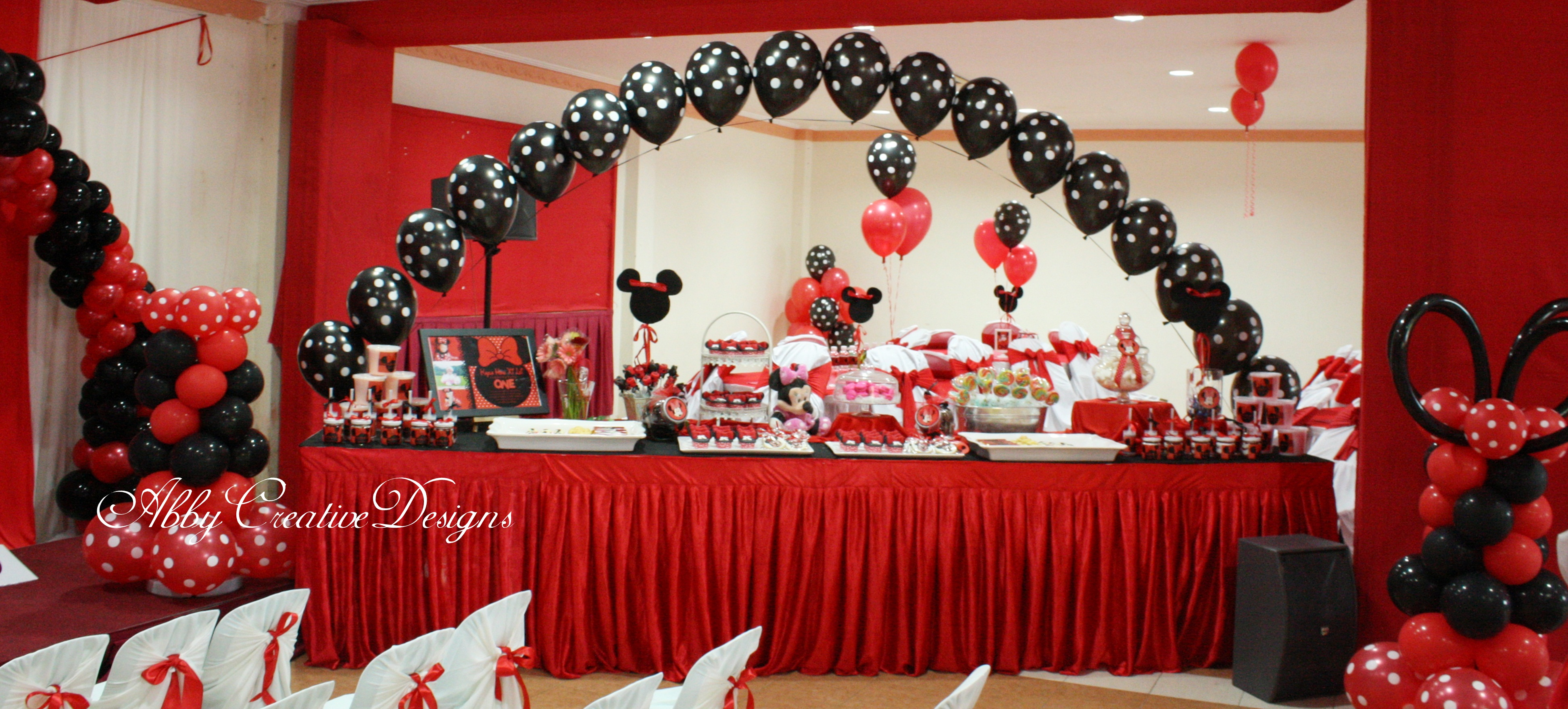 Minnie Mouse 1st Birthday Party! & Minnie Mouse Candy Table Ideas Photograph | Minnie Mouse 1st
