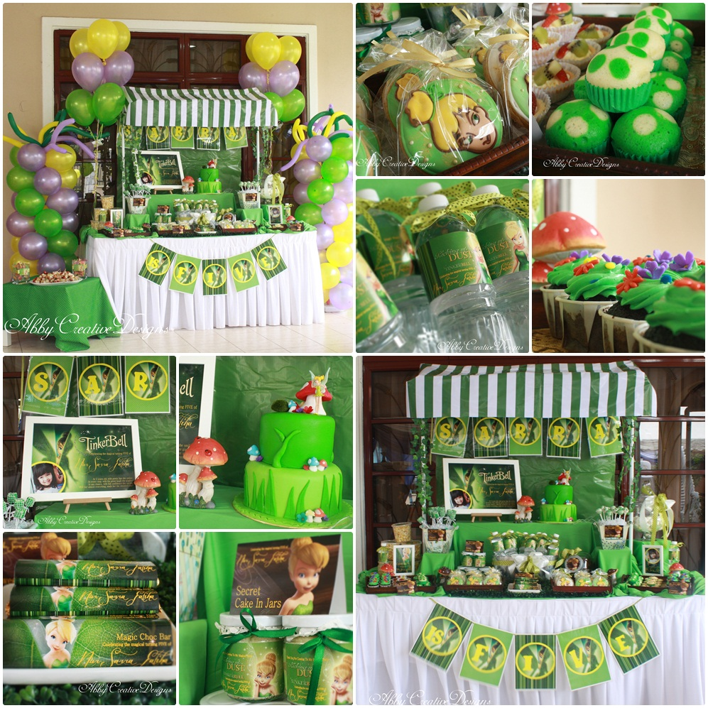 tinkerbell party theme Kaysmakehaukco