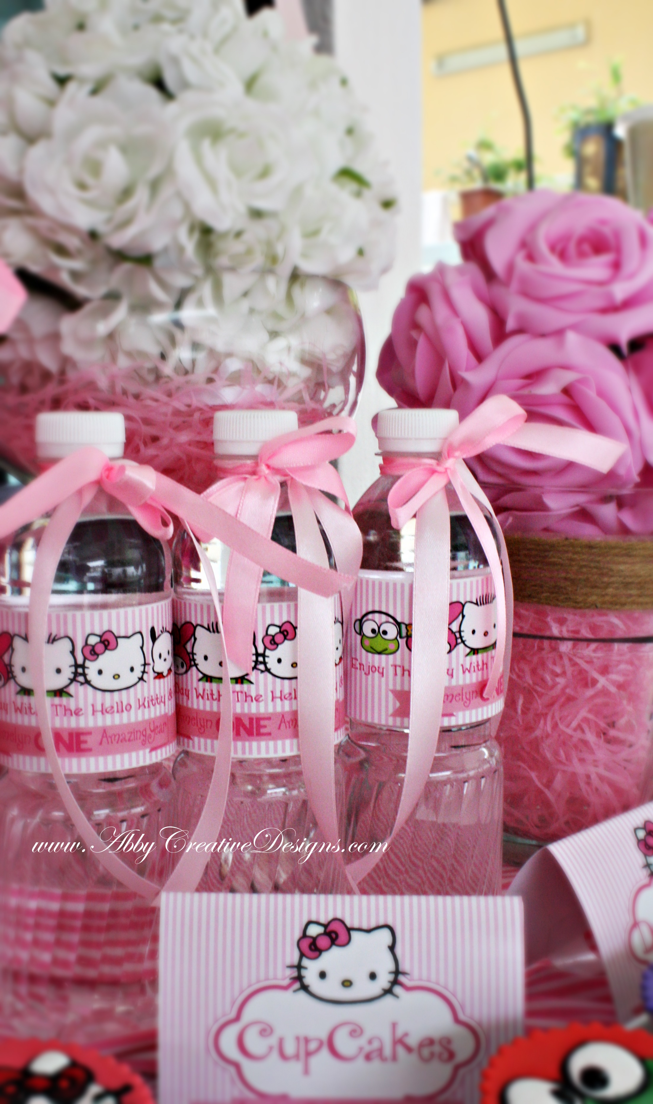 Hello Kitty Friends 1st Birthday Party Its More Than Just A Party