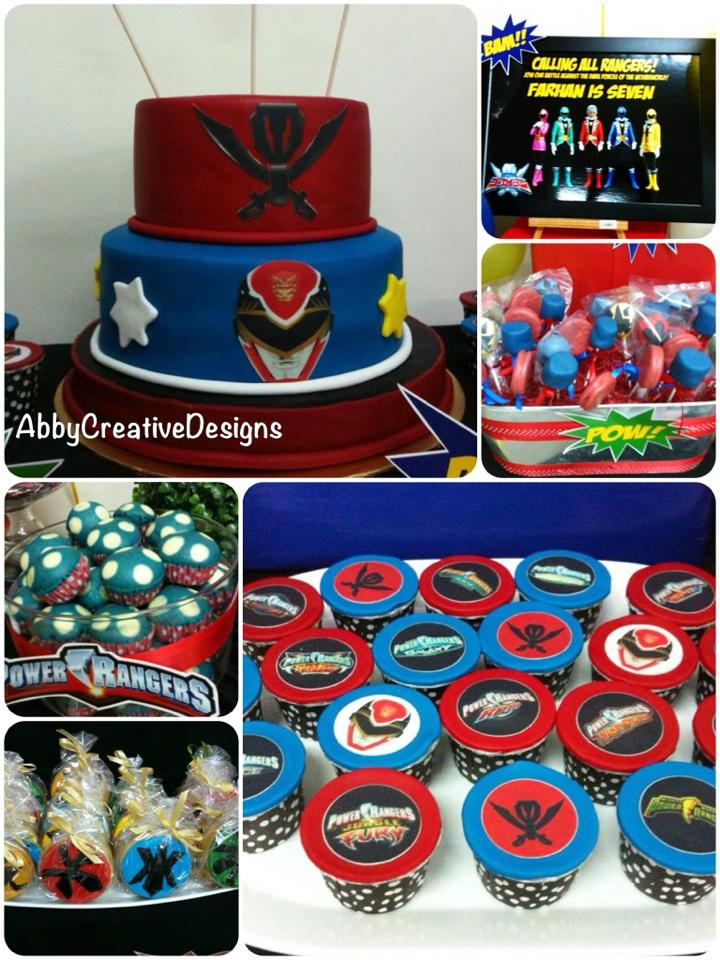 Power Rangers 7th Birthday Party Its More Than Just A Party