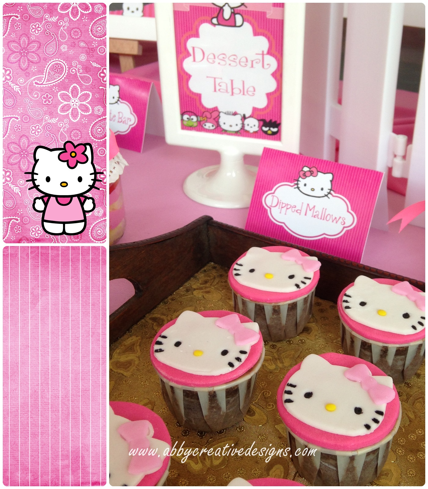Theme Hello Kitty 1st Garden Party Its More Than Just A Party