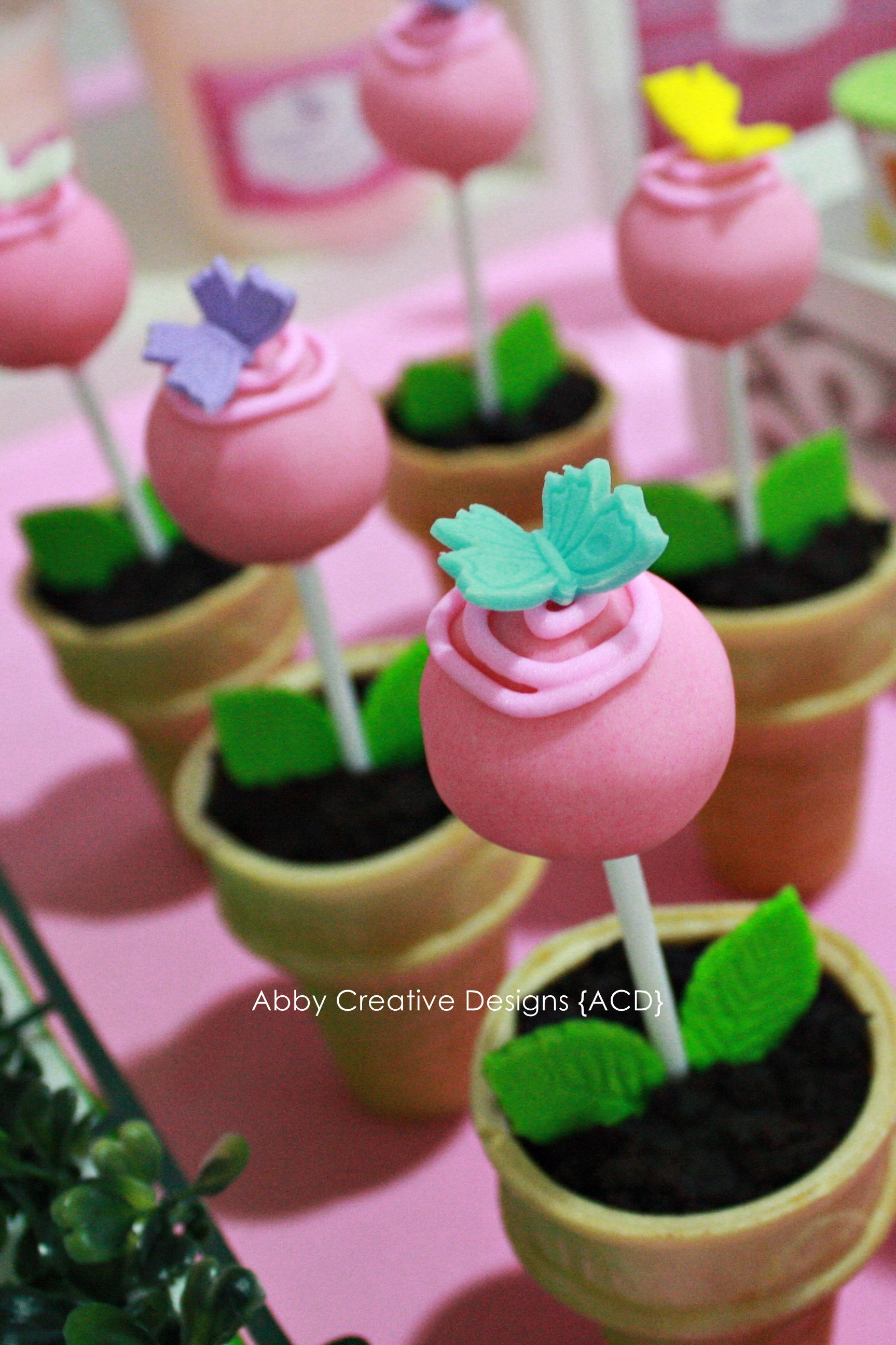 Theme Butterfly Garden 1st Birthday Party Its More Than Just A Party