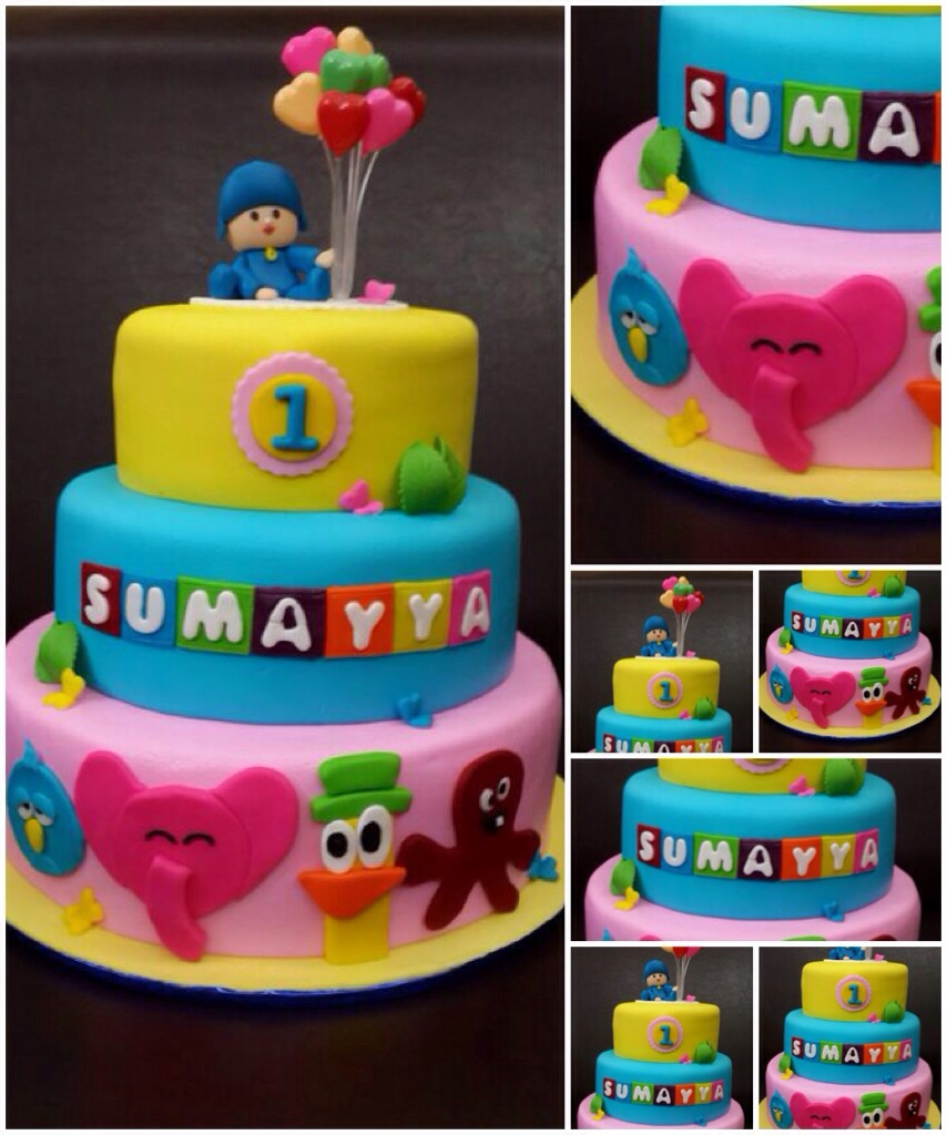 Incredible Pocoyo Birthday Cake Its More Than Just A Party Funny Birthday Cards Online Elaedamsfinfo