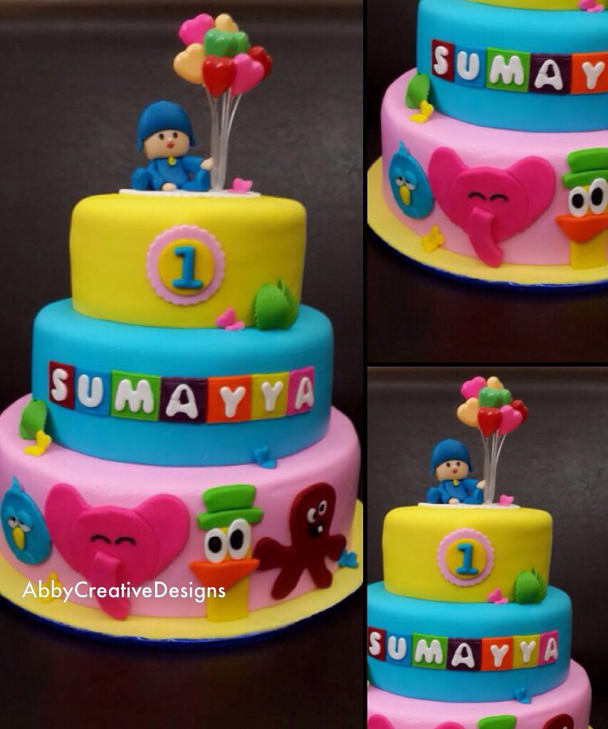 Surprising Pocoyo Birthday Cake Its More Than Just A Party Funny Birthday Cards Online Elaedamsfinfo
