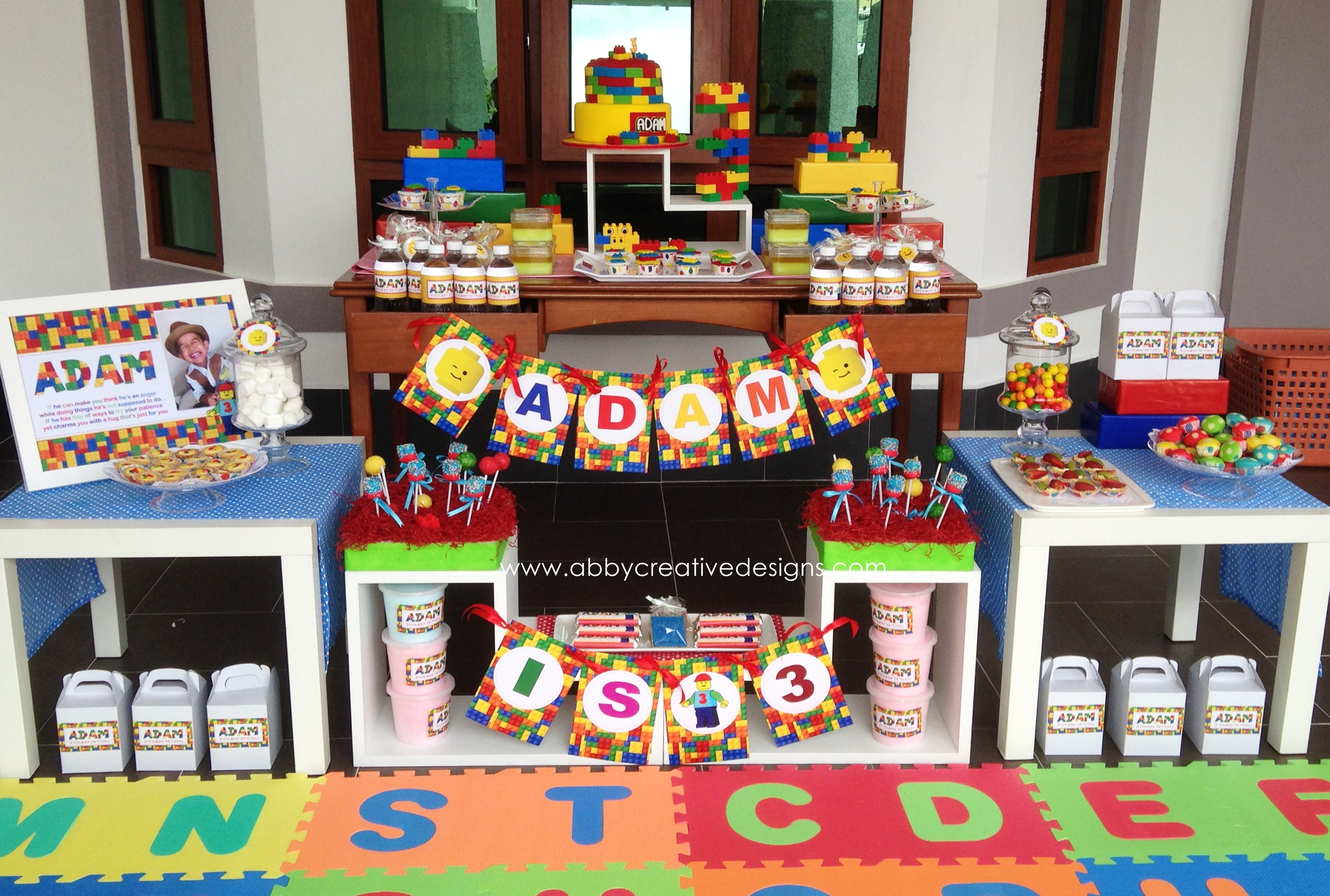 Theme Lego For 3rd Birthday Boy Its More Than Just A Party