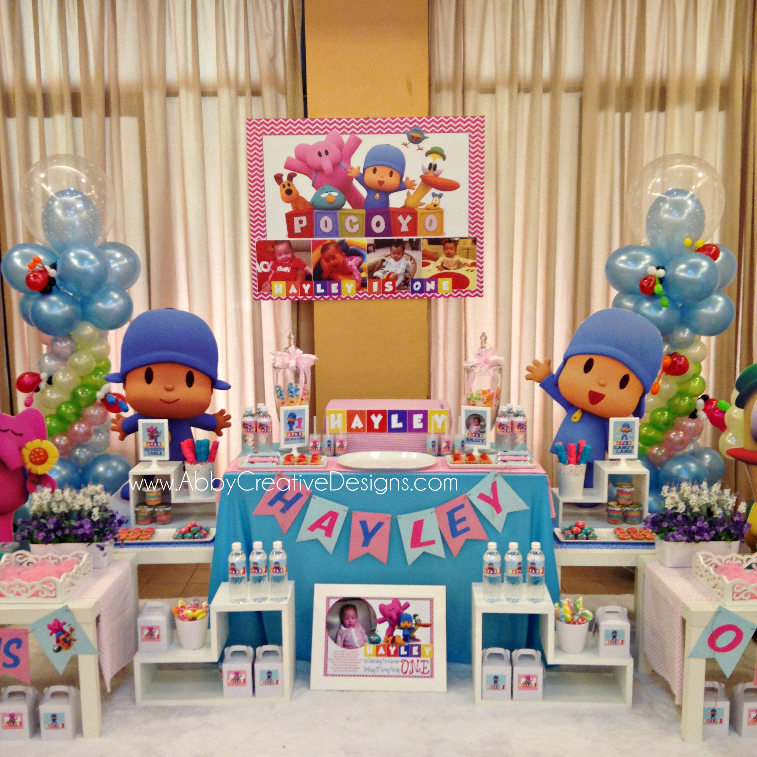 Pocoyo birthday party its more than just a party - Ideas para fiestas infantiles ...