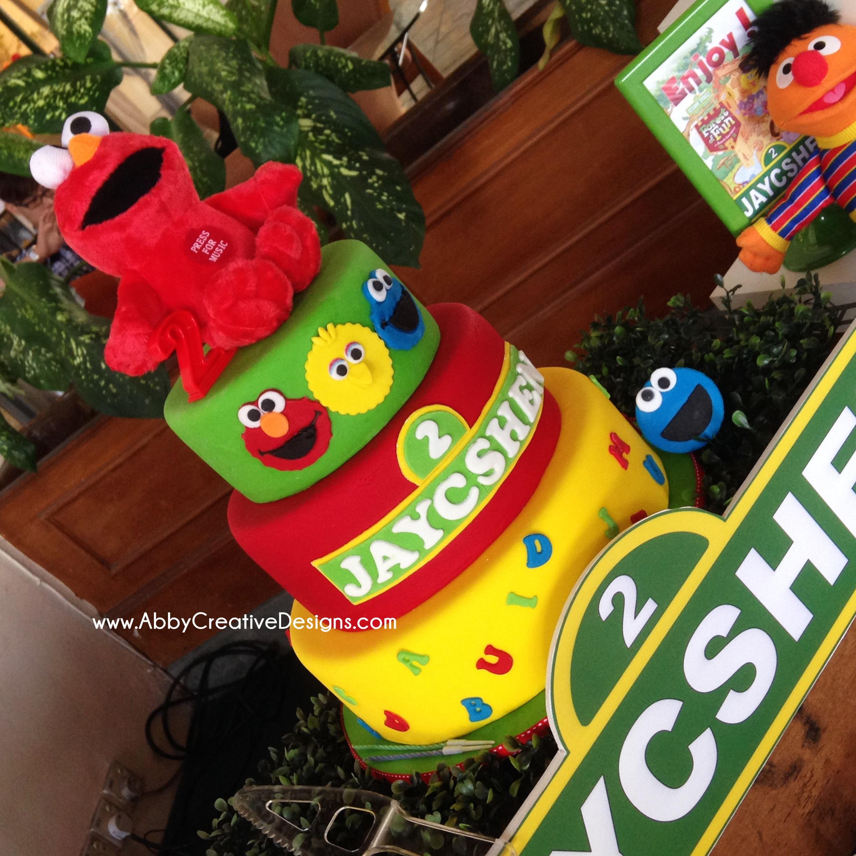Theme : Sesame Street 2nd Birthday Bash For Jaycshen