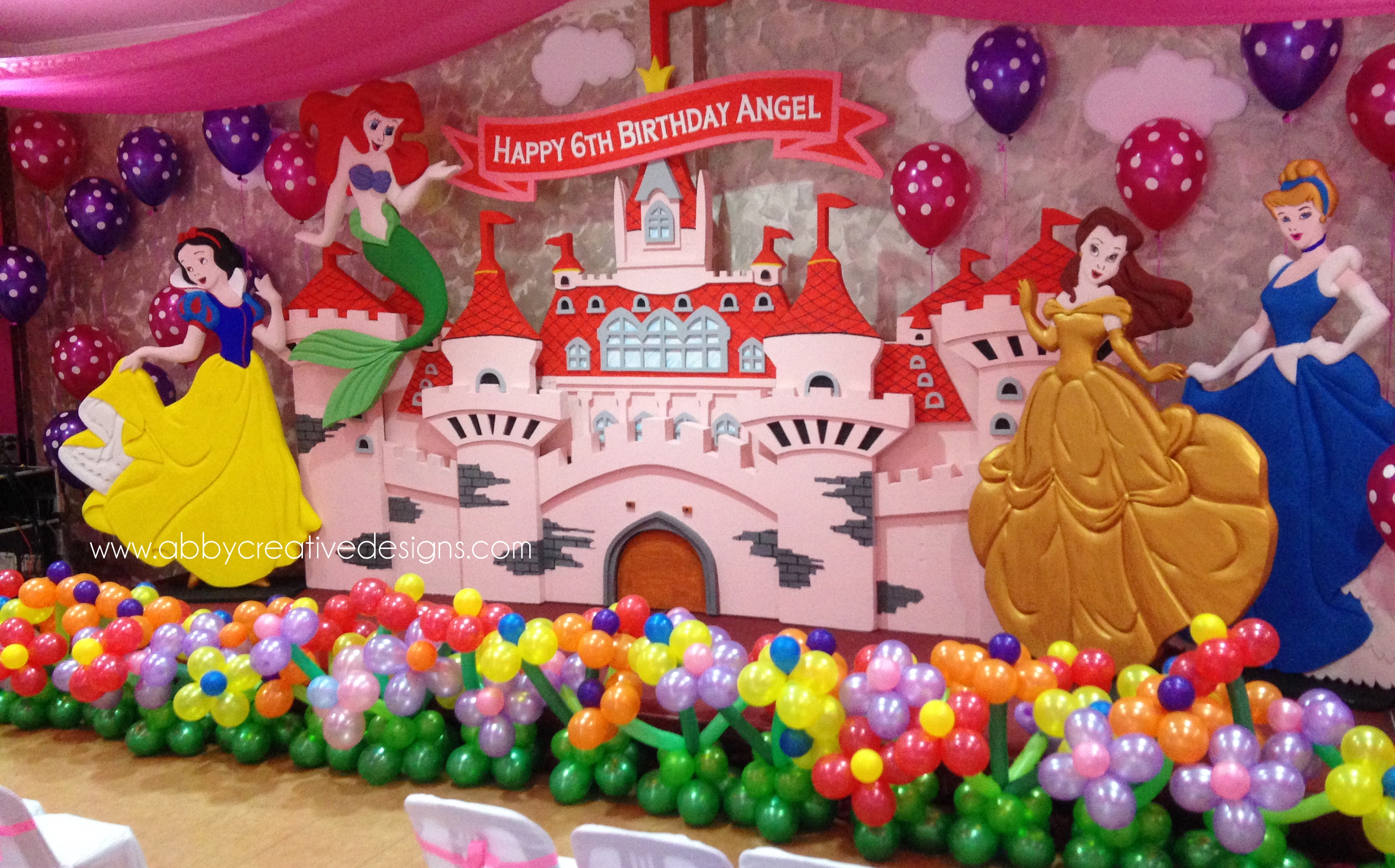 Disney Theme Decorations Disney Princess Stage Decoration Its More Than Just A Party