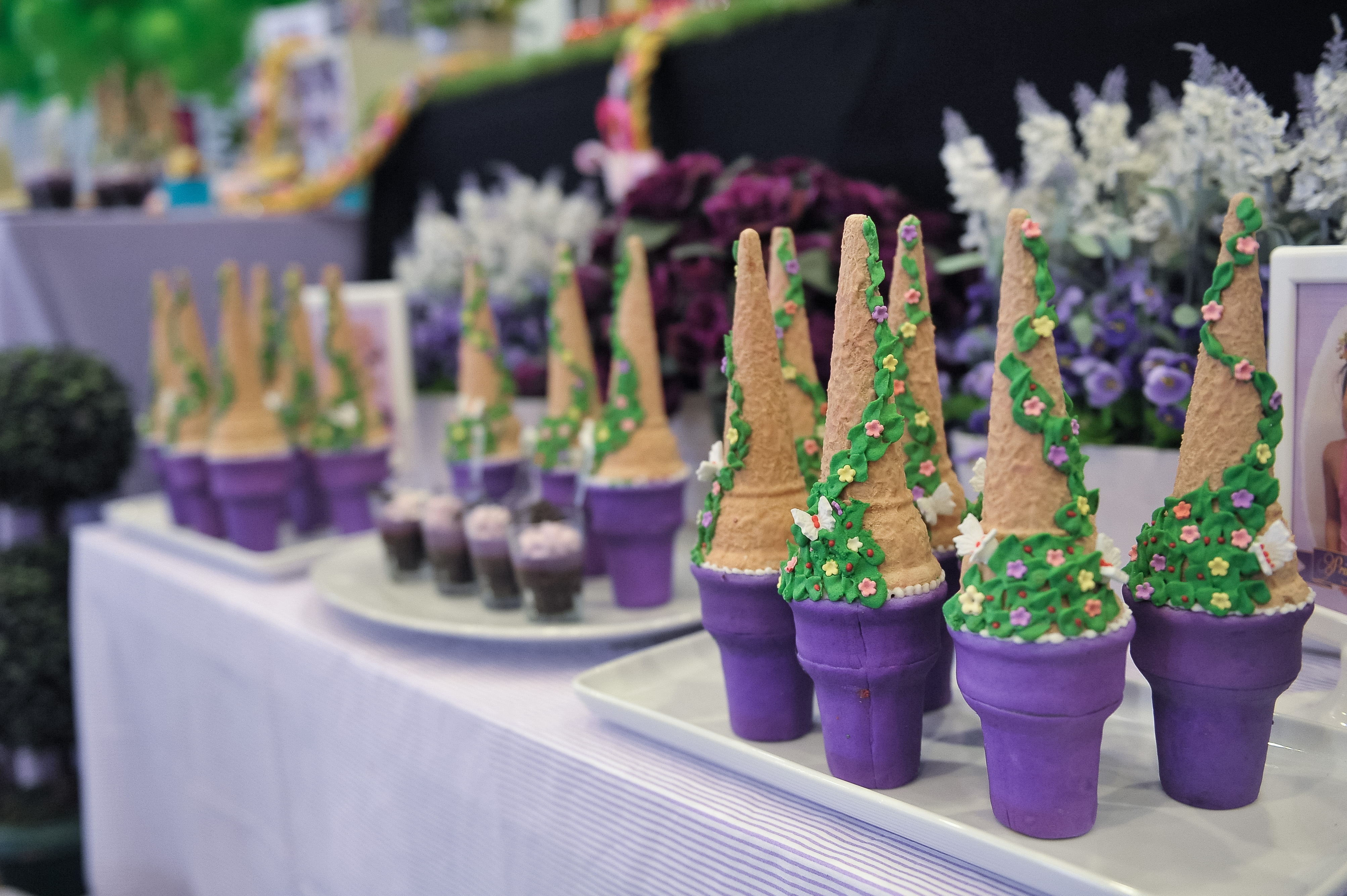 Theme Rapunzel Tangled 5th Birthday For Princess Aryana