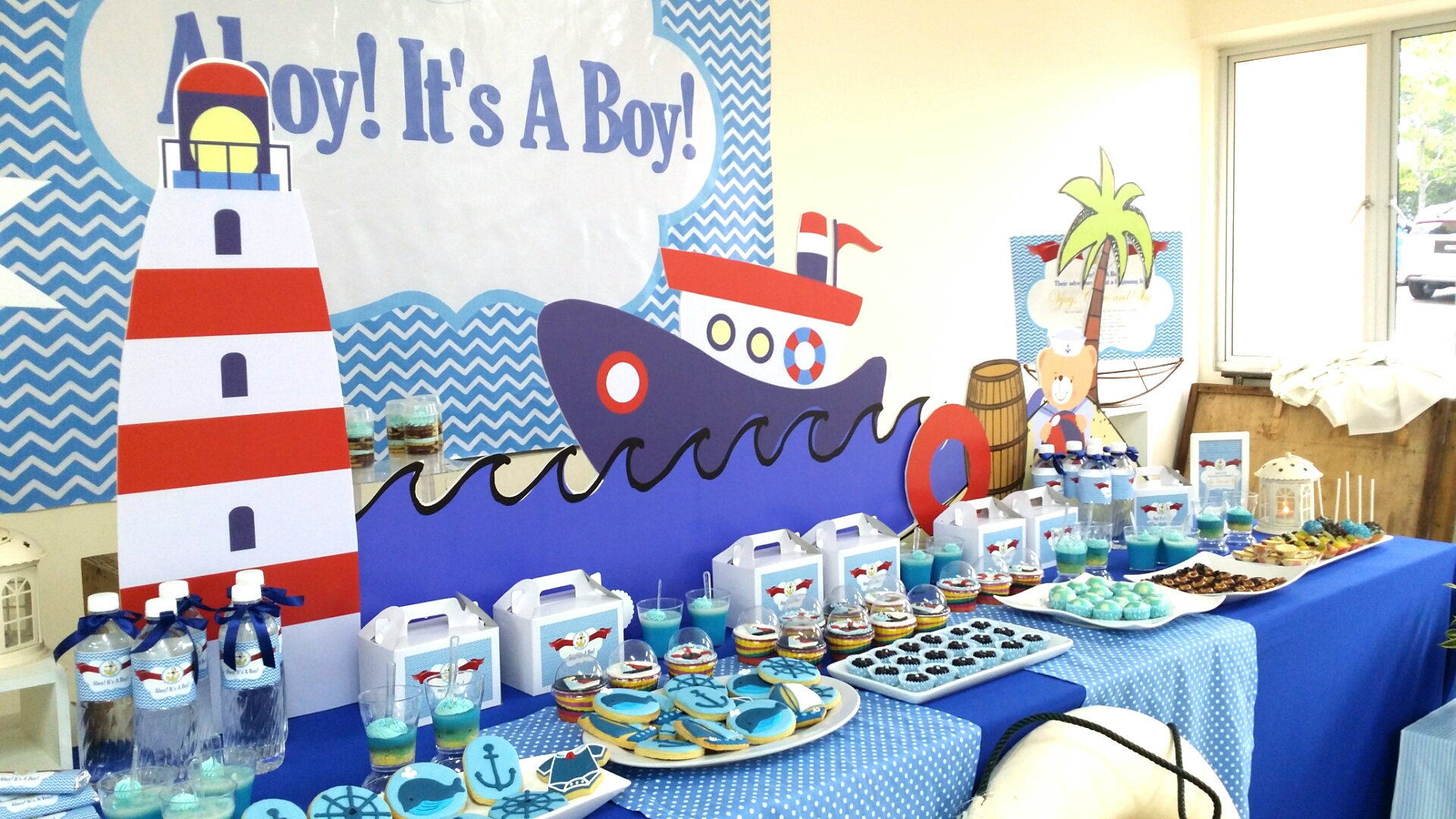 theme nautical baby shower its more than just a party