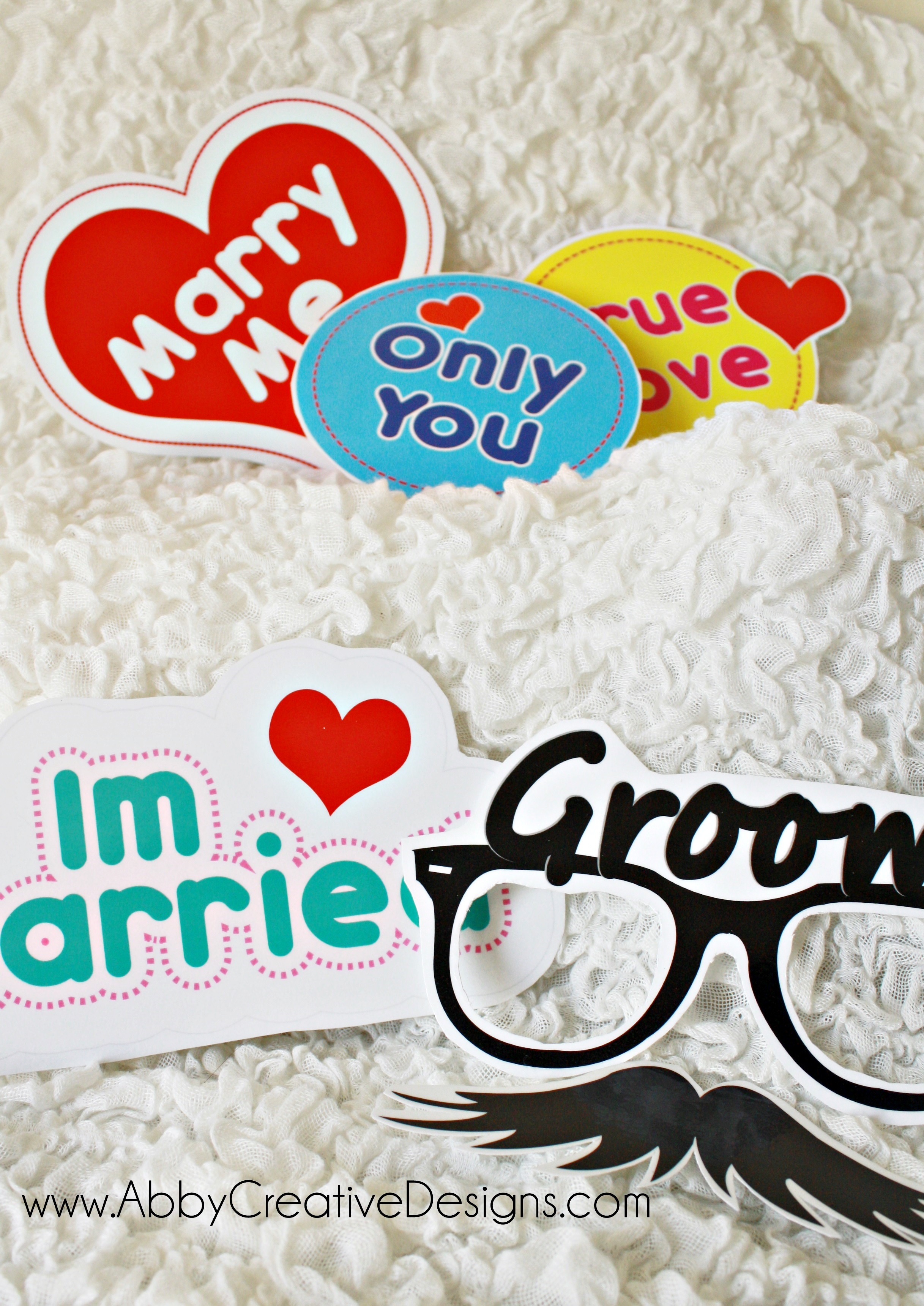 Top wedding photobooth props – Its More Than Just A Party EO17