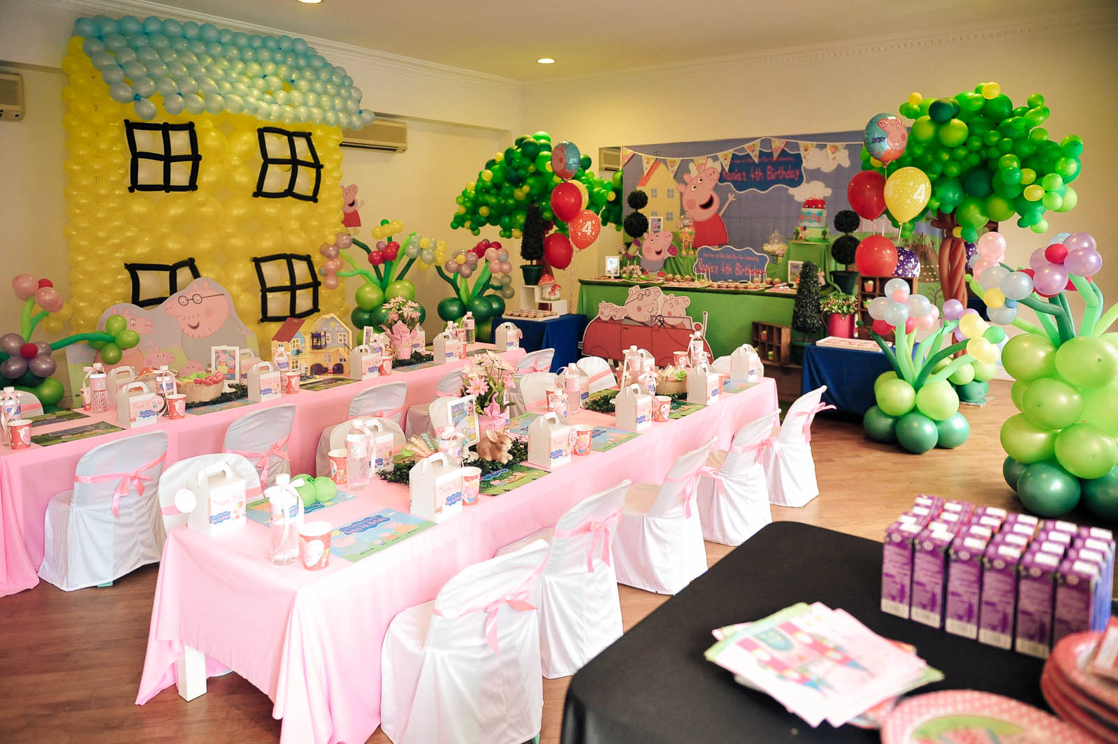 Theme peppa pig its more than just a party Www home decor ideas