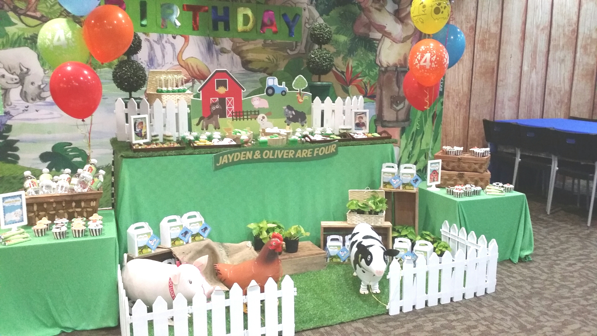 Theme Farm Animals Its More Than Just A Party
