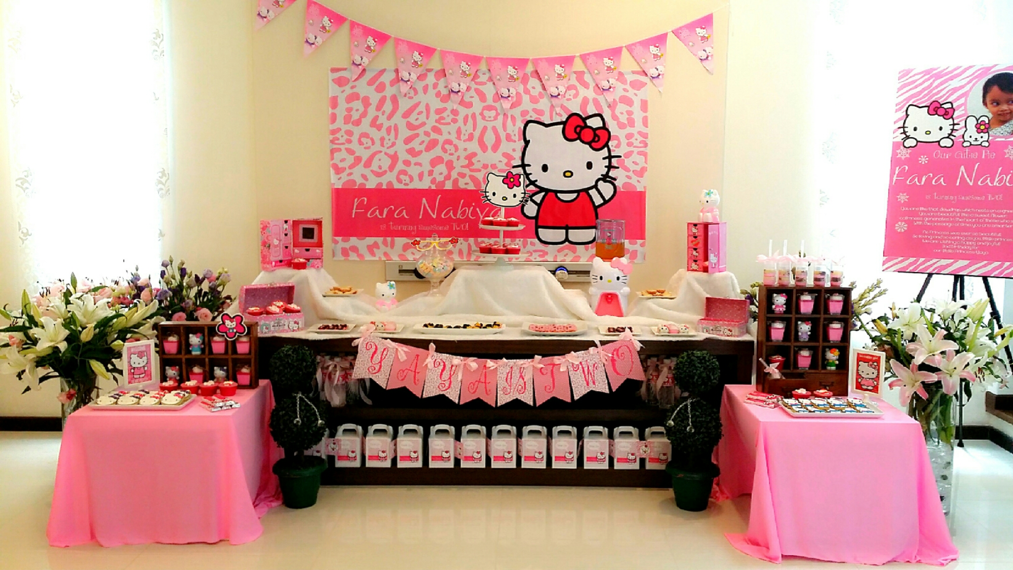 Theme Hello Kitty 2nd Birthday Its More Than Just A Party