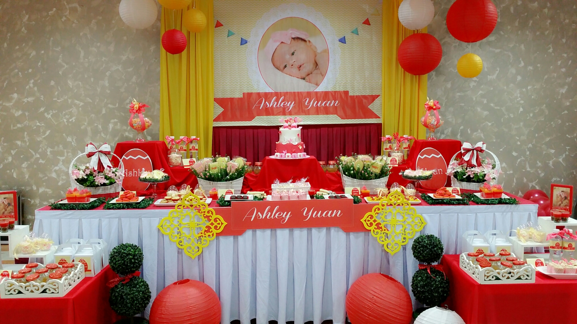Baby event its more than just a party for Baby full moon party decoration