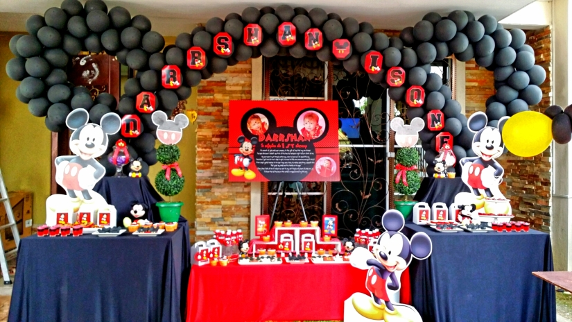 Theme Mickey Mouse Its More Than Just A Party
