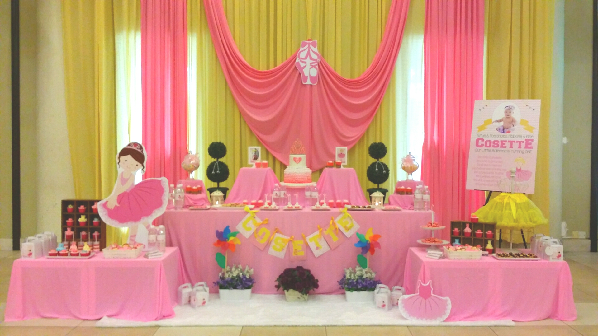 Theme Ballerina Princess 1st Birthday Its More Than Just A Party