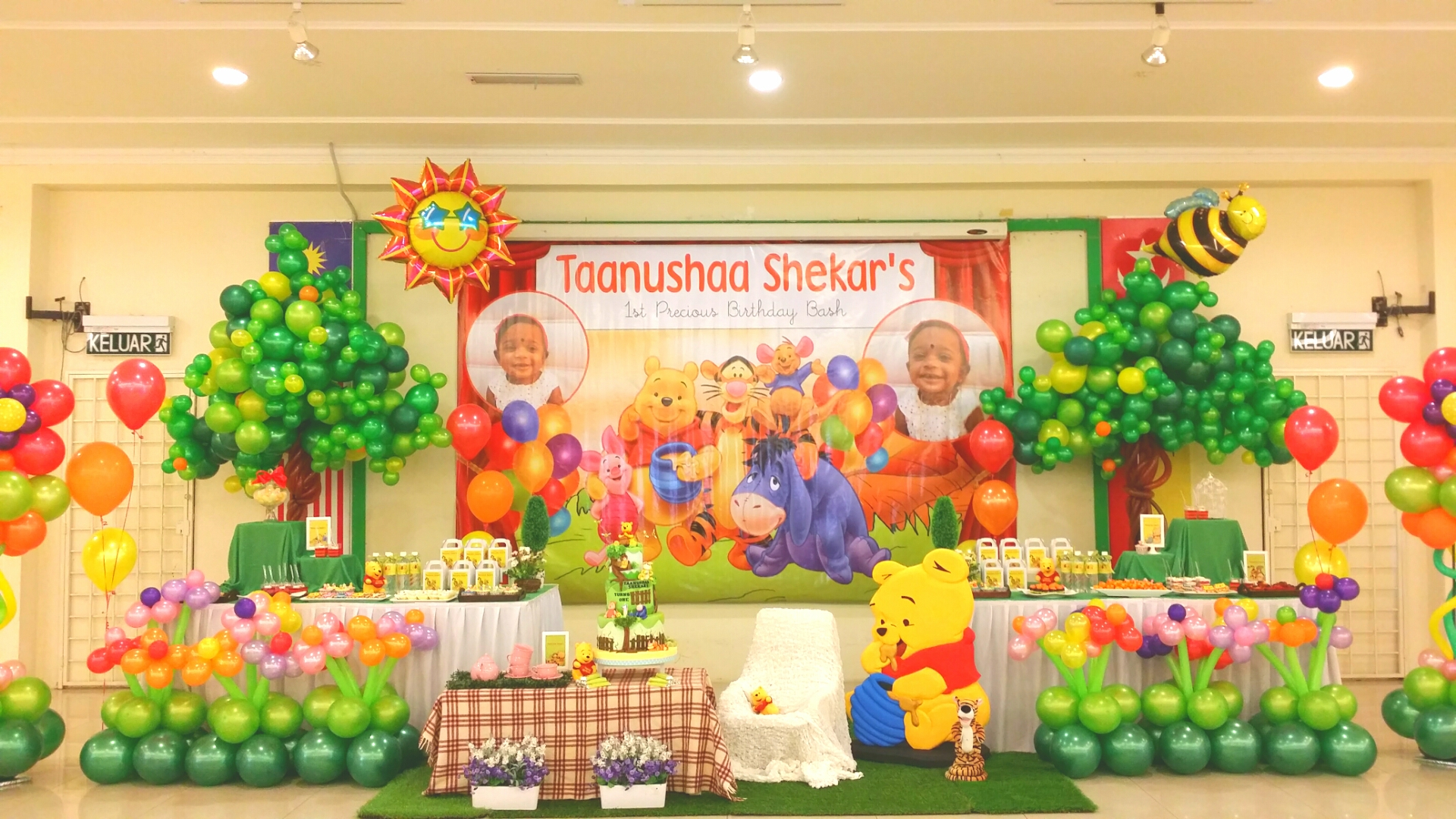 Theme : Winnie The Pooh 1st Birthday Bash – Its More Than ...