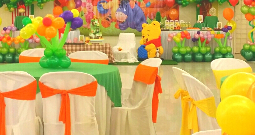 Theme Winnie The Pooh 1st Birthday Bash Its More Than Just A Party