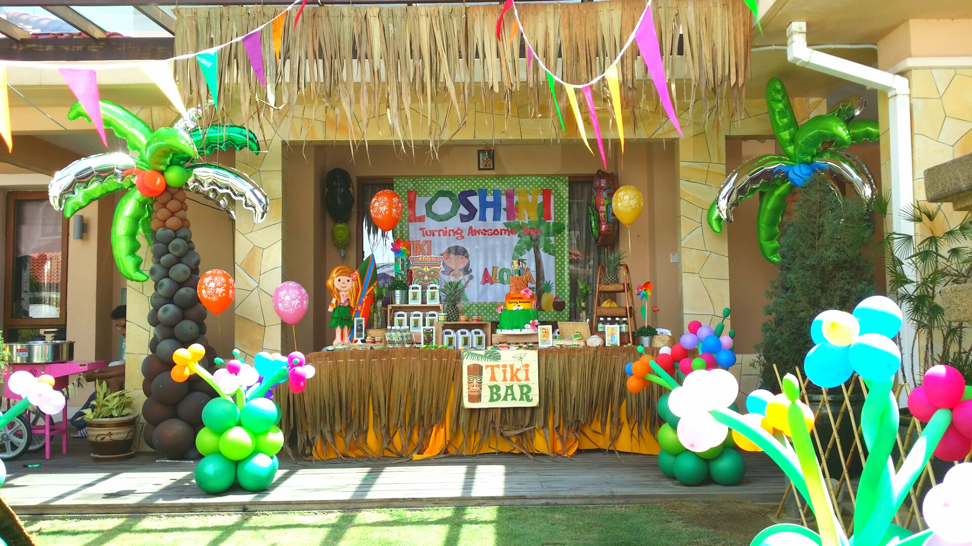 Theme Hawaiian Party For Loshini 2nd Birthday Its More