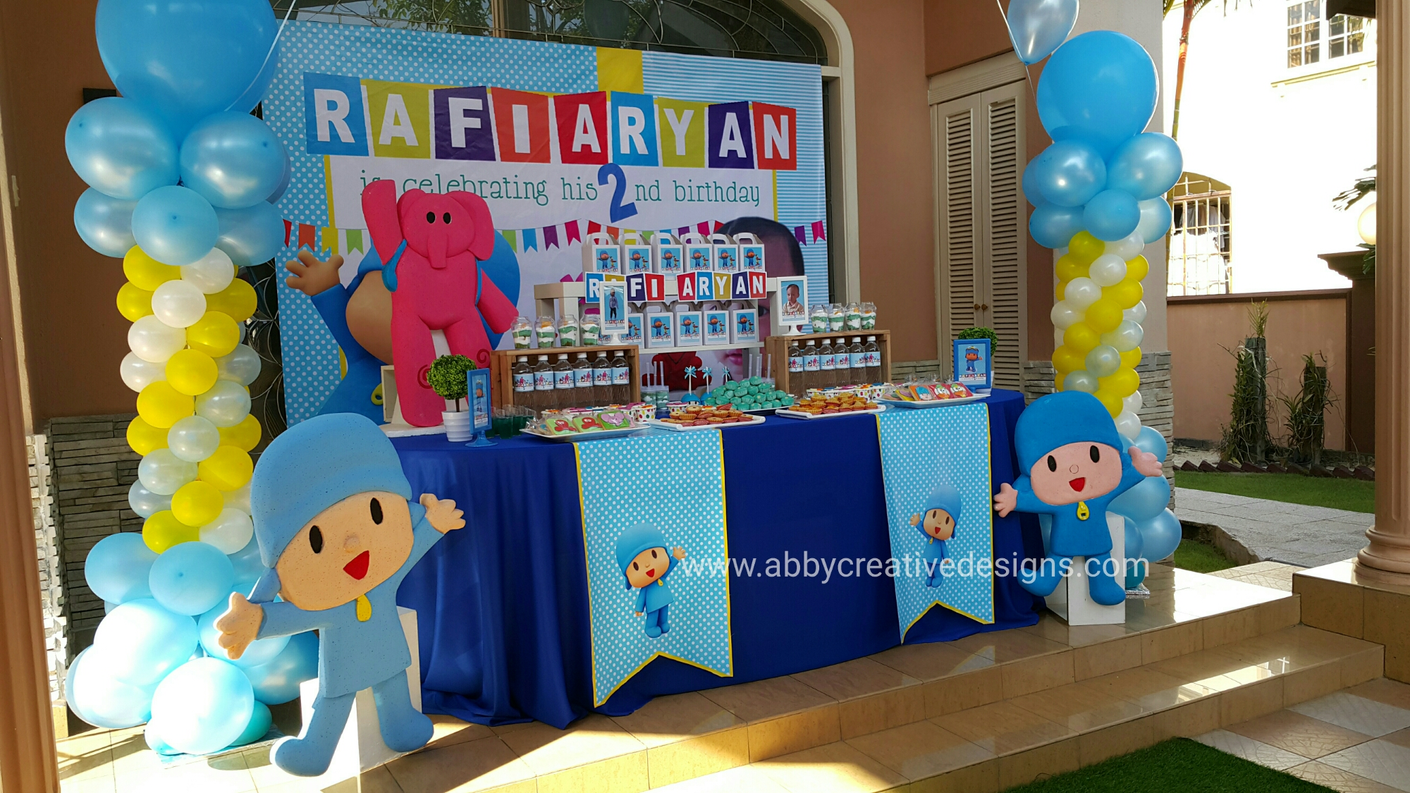 Theme nautical baby shower abby creative designs by for Decoracion de frutas para fiestas infantiles