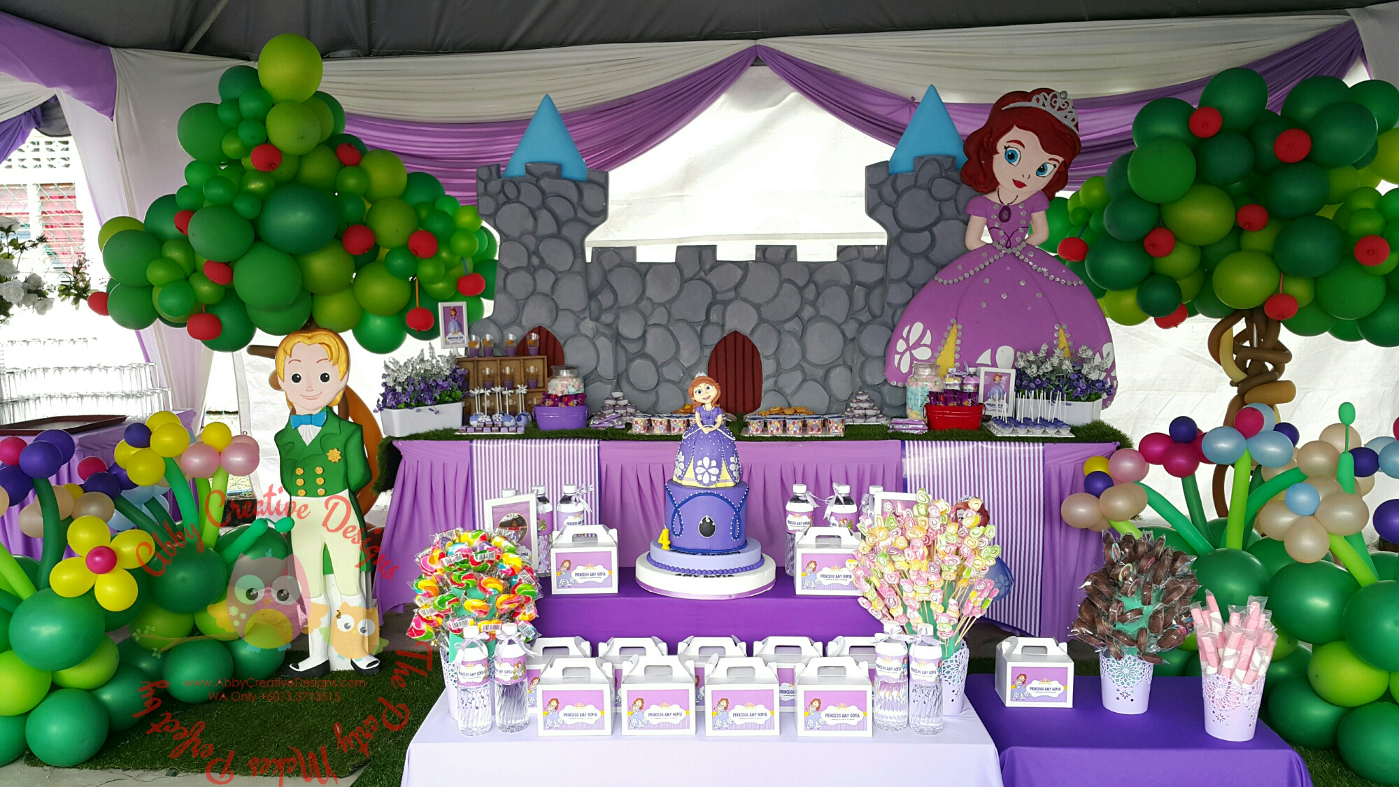Theme sofia the first its more than just a party for Decoration 4