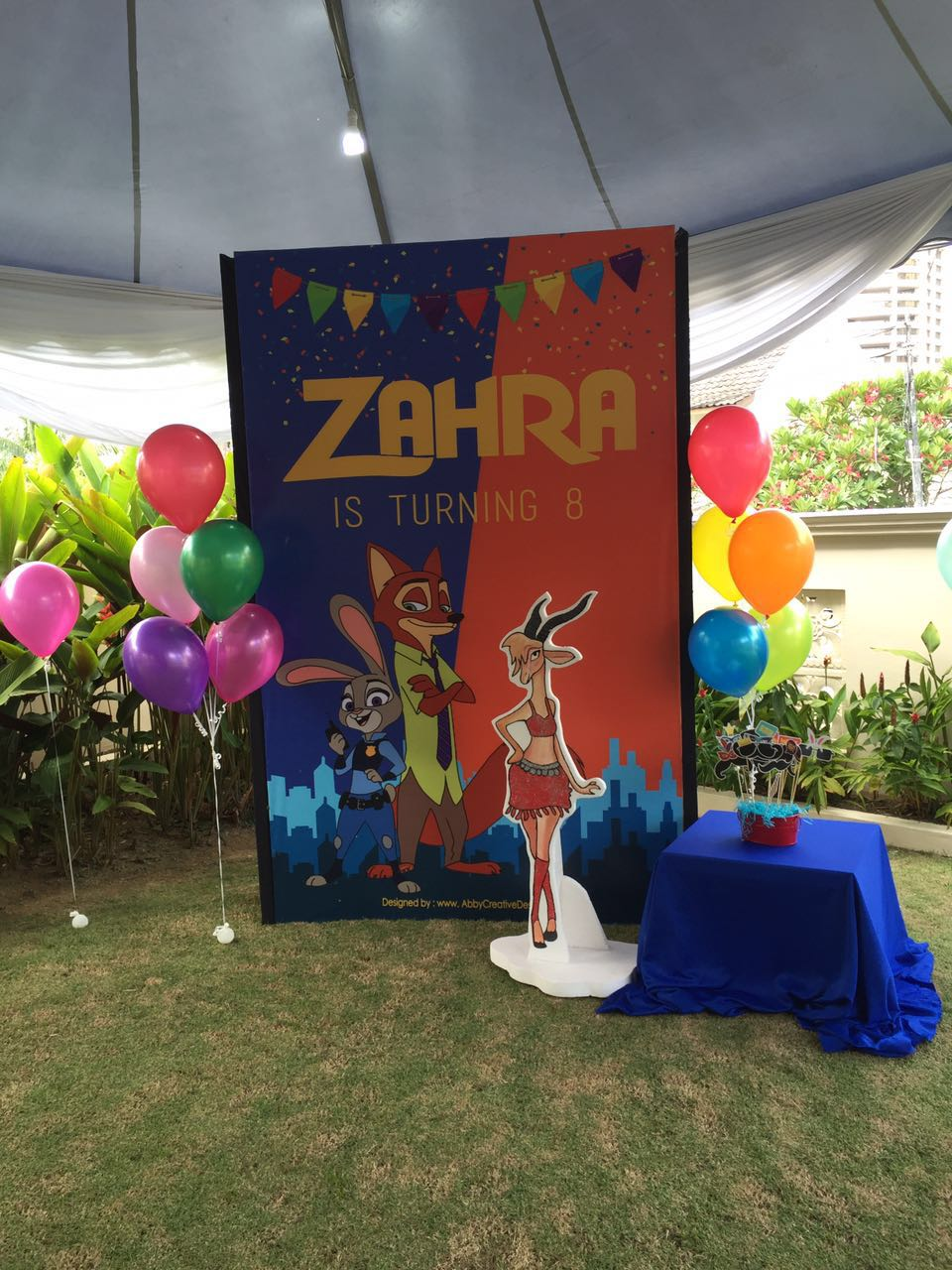 Theme Zahras 8th Zootopia Birthday Its More Than Just A Party