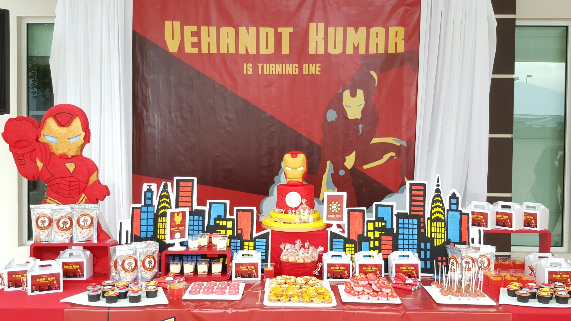 Theme Ironman Its More Than Just A Party