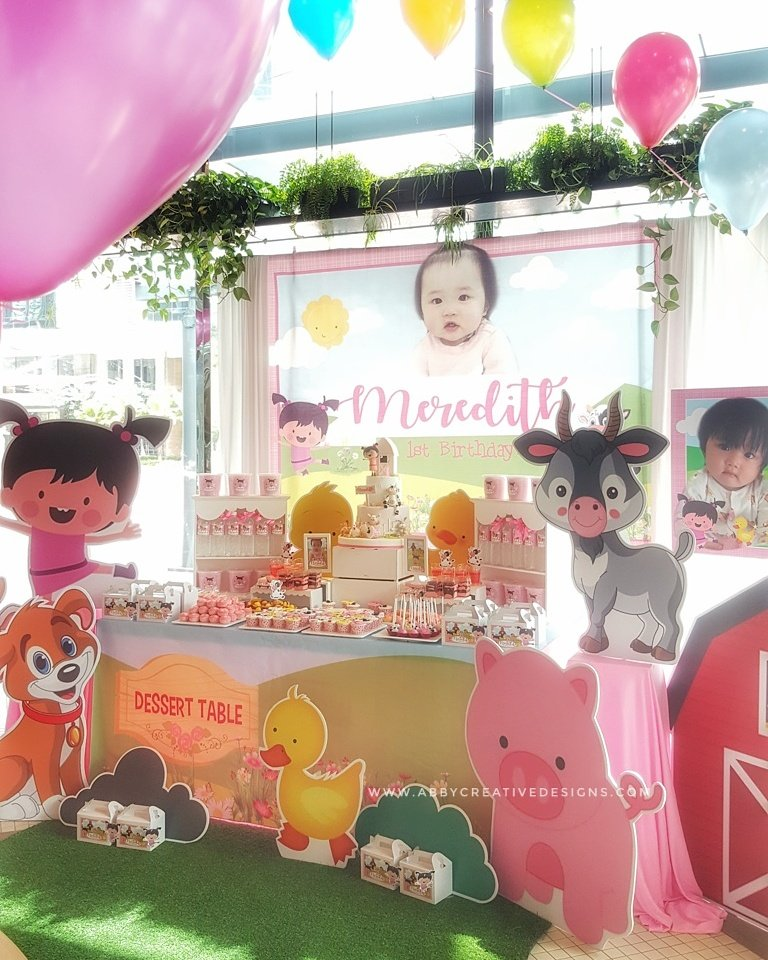 Theme Merediths 1st BabyLola Baby TV Birthday